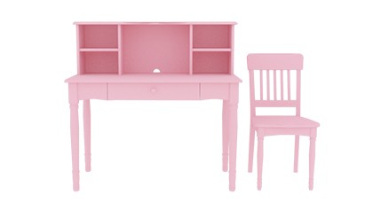 SOPHIE DESK & CHAIR PINK